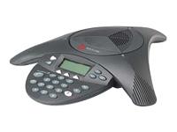 Polycom SoundStation2 EX - téléphone pour conférence avec ID d'appelant/appel en instance