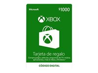 Microsoft Xbox Live - Gift Card - (MXN$1000)