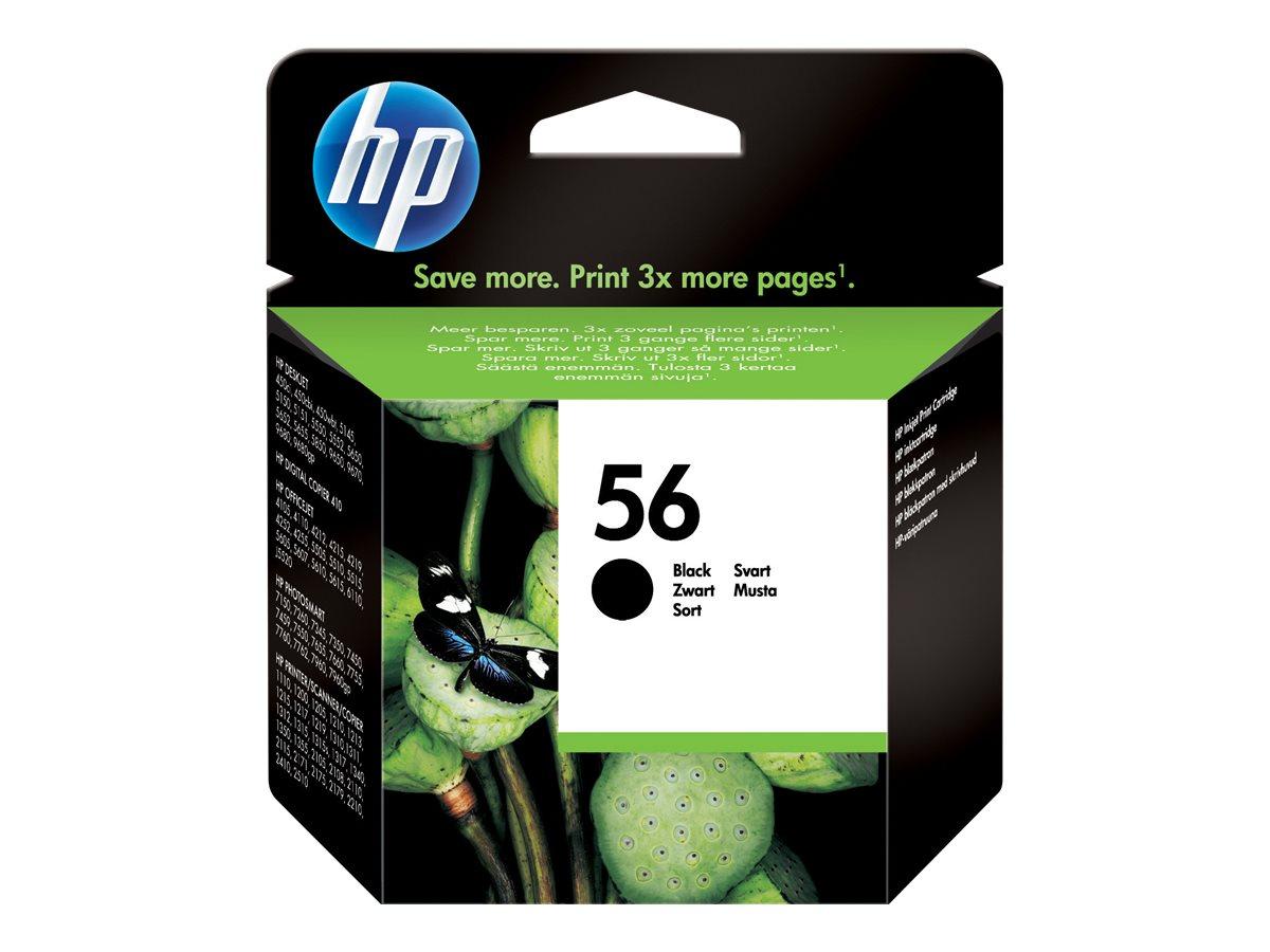 HP 56 - noire - originale - cartouche d'encre