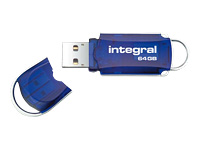Integral Europe Clés USB INFD64GBCOU