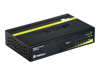 TRENDnet TEG S50G Switch 5 x 10/100/1000 desktop