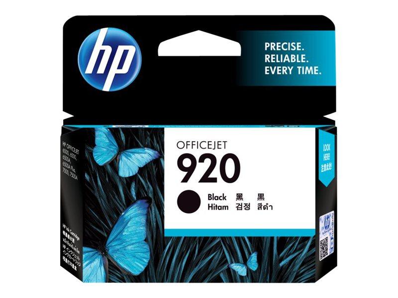 HP 920 - noir - original - cartouche d'encre