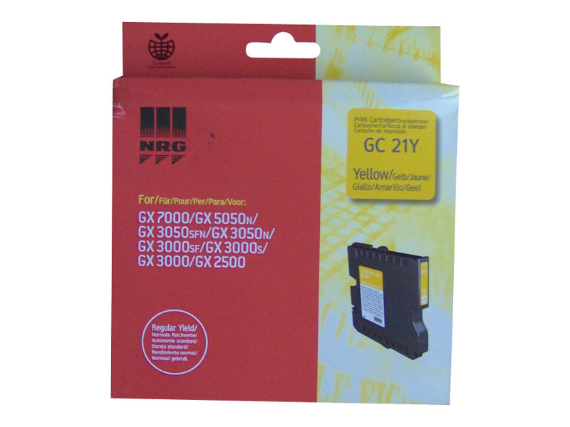 Ricoh GC 21Y - jaune - originale - cartouche d'encre