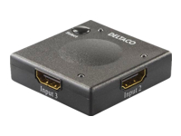 DELTACO HDMI-7002 Video-/audioswitch 3 x HDMI desktop