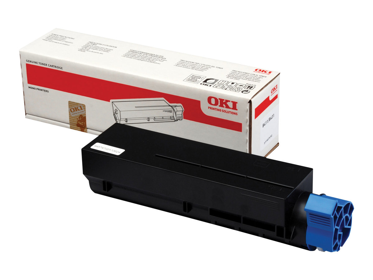 OKI - Noir - originale - cartouche de toner - 44574702