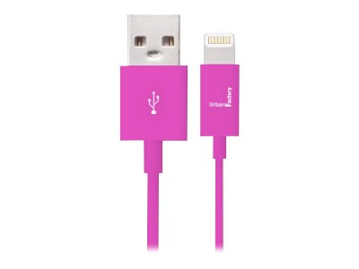 Urban Factory Lightning Collection - câble de données / charge pour iPad / iPhone / iPod - 1 m
