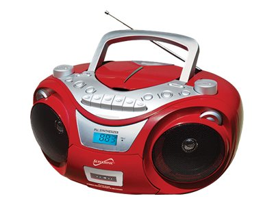 Supersonic SC-739BT - Boombox - red