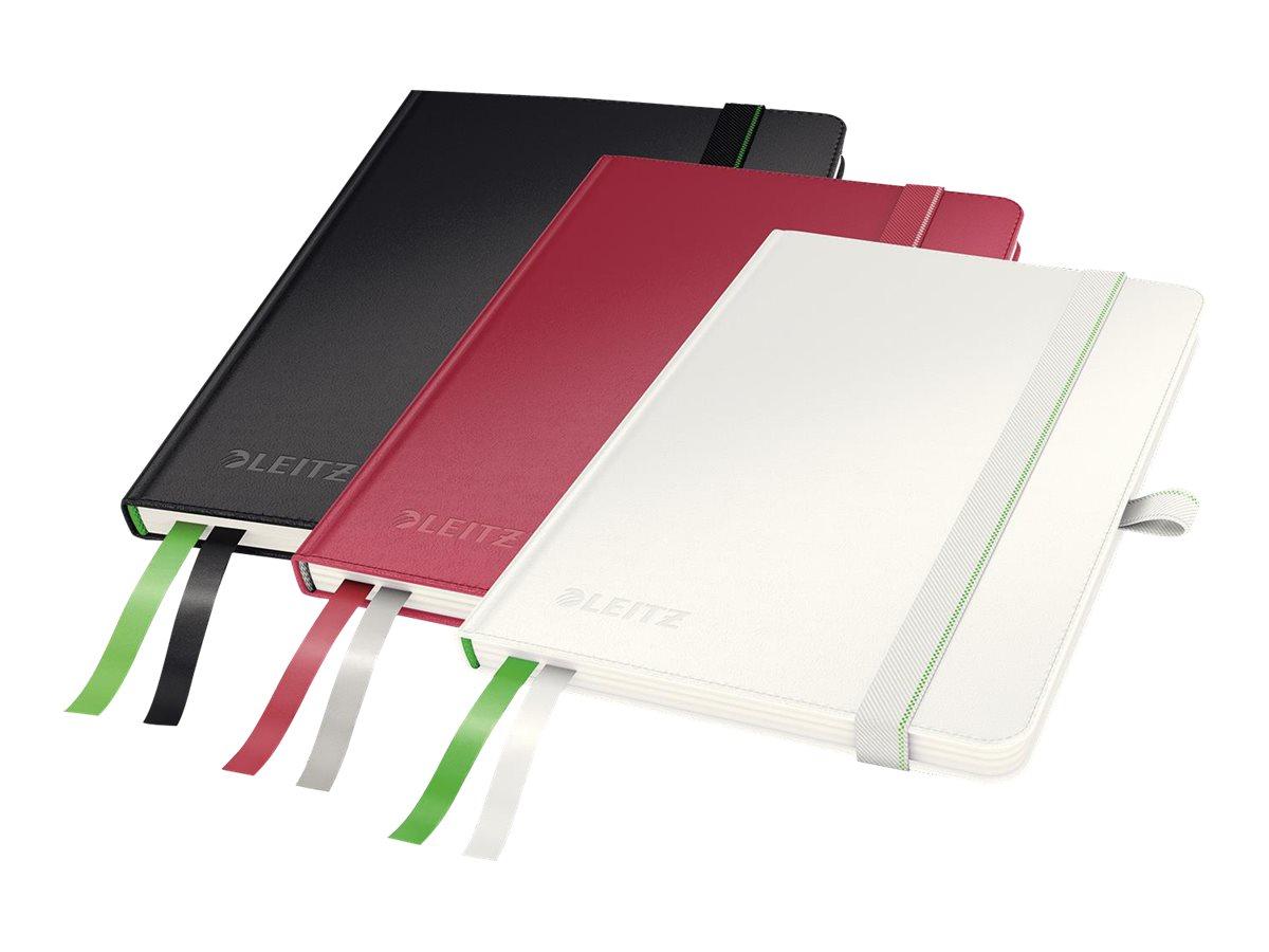 Leitz Complete - Cahier - A6 - 160 pages - réglé - disponible dans différentes couleurs