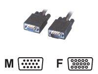 MCL Samar - Rallonge de câble VGA - HD- 15 (M) pour HD- 15 (F) - 2 m - moulé