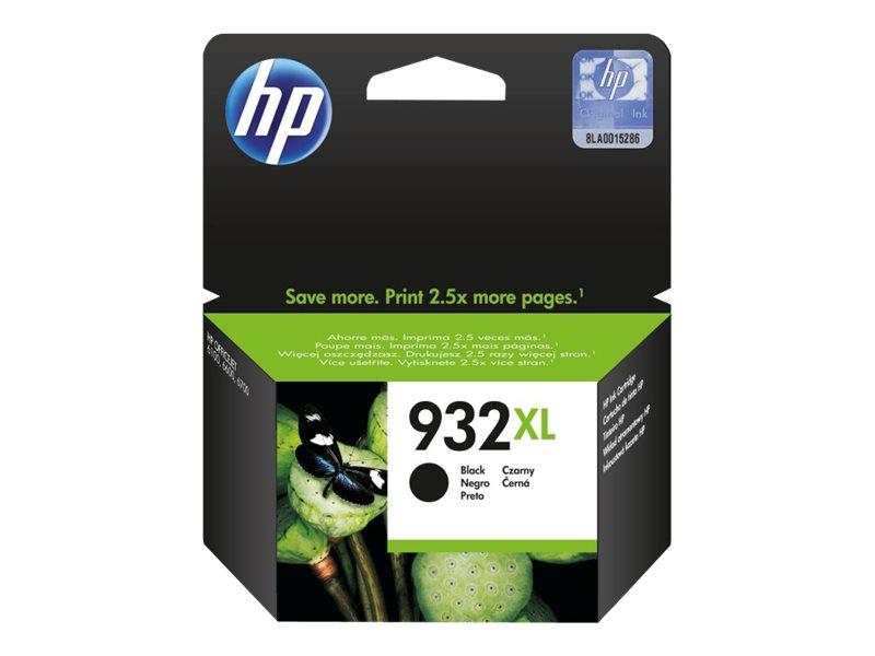 HP 932XL - à rendement élevé - noir - originale - cartouche d'encre
