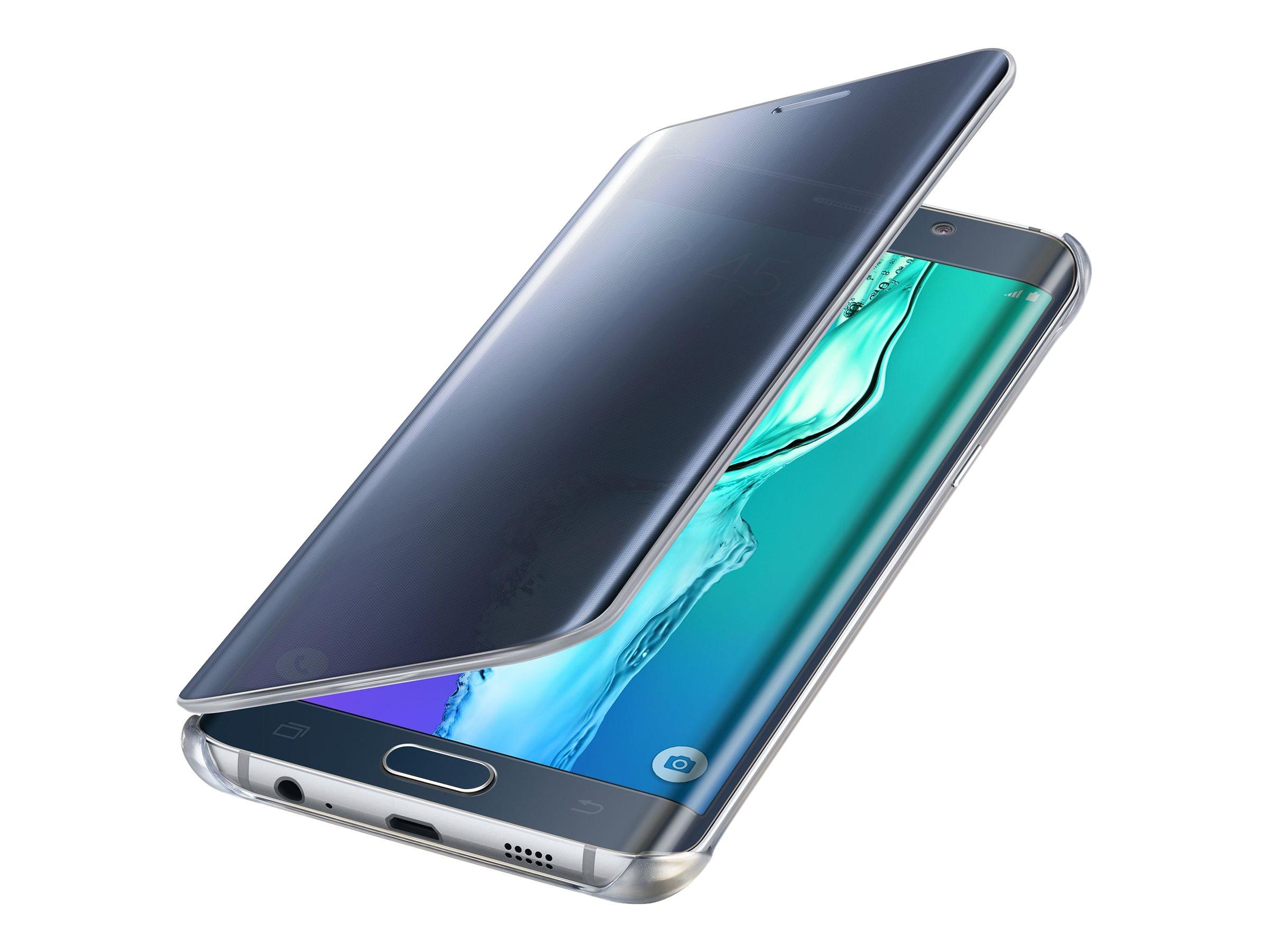 Samsung Clear View Cover EF-ZG928CB protection à rabat pour téléphone portable