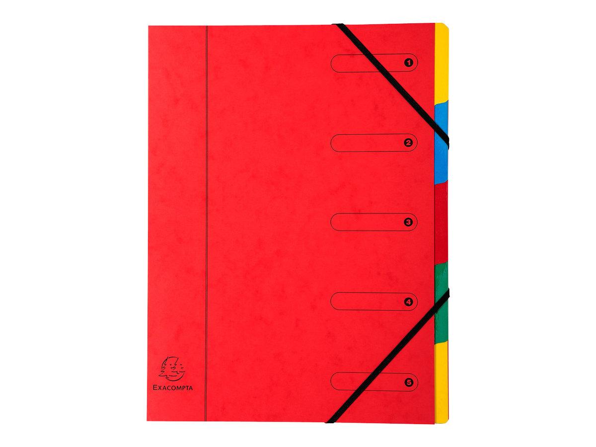 Exacompta Nature Future Harmonika - Parapheur - 5 pochettes - 5 positions - A4 - couleurs tachetées assorties