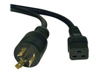 Tripp Lite 10ft Power Cord Extension Cable L6-20P to C19 for PDU/UPS Heavy Duty 20A 12AWG 10