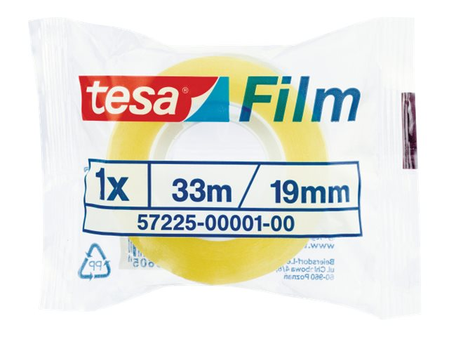 Tesafilm Standard - Ruban adhésif - 19 mm x 33 m - transparent