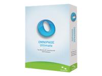 OmniPage Ultimate - ensemble de boîtes