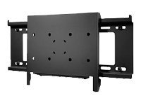 "Peerless SmartMount Dedicated Flat Wall Mount SF16D - Mounting kit (wall plate, fasteners, bracket, adapter plate) for LCD / plasma panel - black - screen size: 22"" - 71"" - wall-mountable"