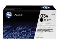 HP - LASERJET SUPPLY (5T) T�ner Negro (n�03A)C3903A