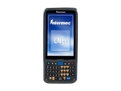 "Intermec CN51 - Data collection terminal - Android 4.1 (Jelly Bean) - 16 GB - 4"" color TFT (480 x 800) - rear camera - barcode reader - (2D imager) - USB host - microSD slot - Wi-Fi, Bluetooth - 3G"