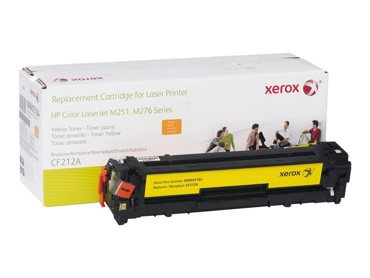 Xerox - jaune - cartouche de toner (équivalent à : HP CF212A)