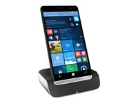 "HP Elite x3 - Smartphone - 3-in-1 - dual-SIM - 4G LTE - 64 GB - microSDXC slot - GSM - 5.96"" - 2560 x 1440 pixels (494 ppi) - AMOLED - RAM 4 GB - 16 MP (8 MP front camera) - Windows 10 - graphite with chrome"