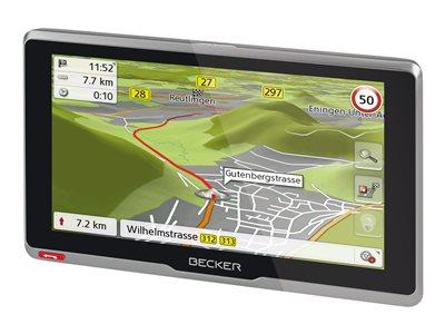 Becker Active .6s CE - GPS navigace - automobil 6.2 palec širokoúhlá obrazovka