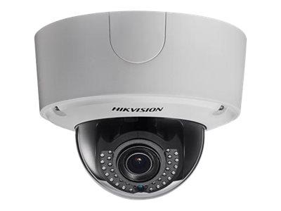 Hikvision Smart IPC DS-2CD4565F-IZH - Network surveillance camera - dome - outdoor - dust / vandal / waterproof - color (Day&Night) - 6 MP - 3072 x 2048 - auto iris - vari-focal - audio - composite - GbE - MJPEG, H.264 - DC 12 V / AC 24 V / PoE Plus