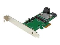StarTech.com Carte controleur / Adaptateur RAID PCI Express 2.0 a 3 ports SATA III 6Gb/s avec slot mSATA et HyperDuo SSD Tiering