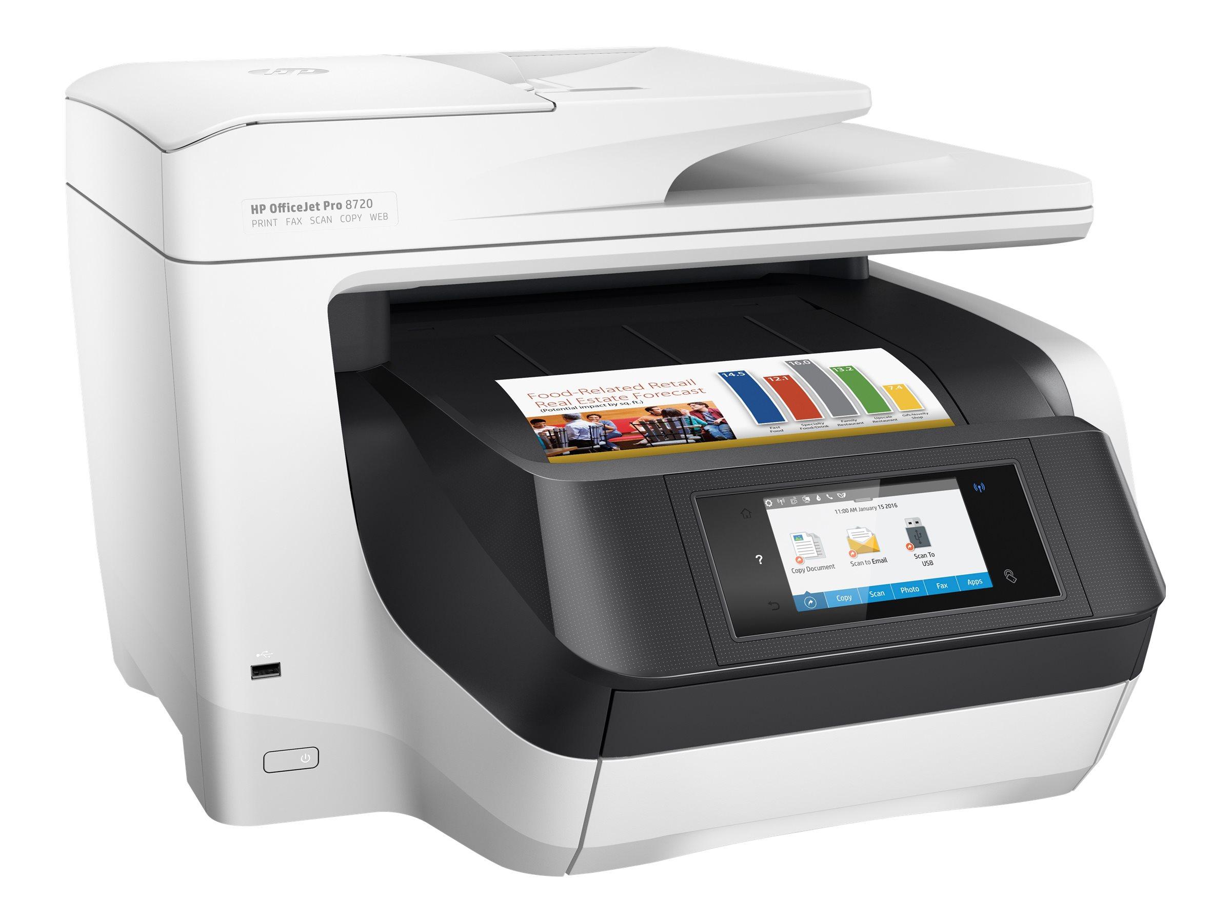 DCS - Blækprintere - HP Officejet Pro 8720 All-in-One