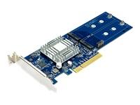 Synology M2D17 Ramme Expansion Slot til 2 x M.2 M.2 Card PCIe 2.0 x8