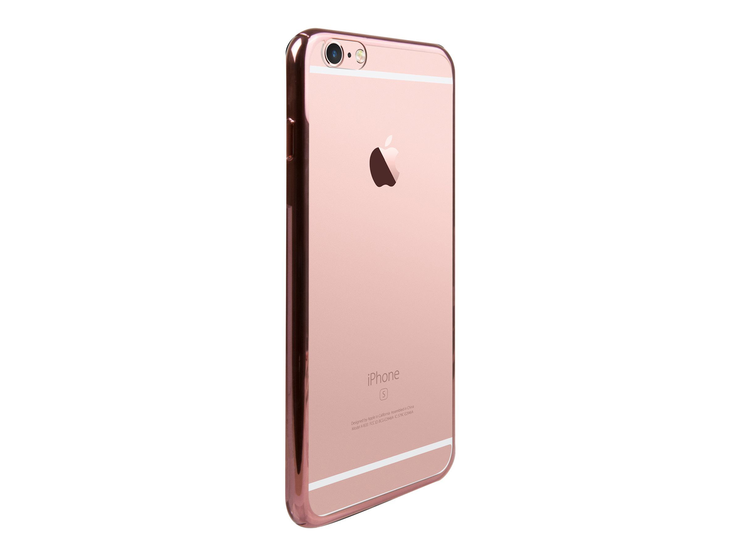 MUVIT LIFE bling - Coque de protection pour iPhone 6, 6s - or rose