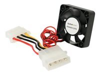 StarTech.com 40x10mm Replacement Dual Ball Bearing Computer Case Fan w/ LP4