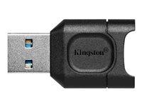 Kingston MobileLite Plus - Card reader (microSD, microSDHC, microSDXC, microSDHC UHS-I, microSDXC UHS-I, microSDHC UHS-II, microSDXC UHS-II) - USB 3.2 Gen 1
