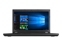 """Lenovo ThinkPad L570 20JQ - Core i3 6006U / 2 GHz - Win 7 Pro 64-bit (includes Win 10 Pro 64-bit License) - 4 GB RAM - 500 GB HDD - DVD-Writer - 15.6"""" 1366 x 768 (HD) - HD Graphics 520 - Wi-Fi, Bluetooth - WWAN upgradable - black"""