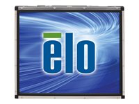 """Elo Open-Frame Touchmonitors 1739L AccuTouch - LCD monitor - 17"""" - open frame - touchscreen - 1280 x 1024 - 246 cd/m² - 1000:1 - 7.2 ms - VGA - black, steel"""