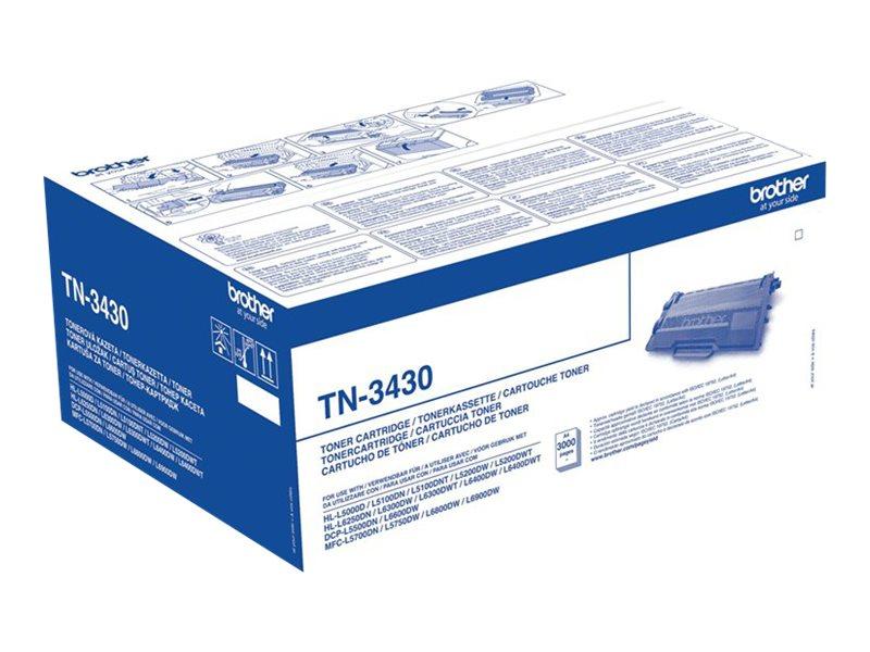 Brother TN3430 - noire - original - toner