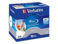 Verbatim - BD-R x 10 - 25 Go - support de stockage