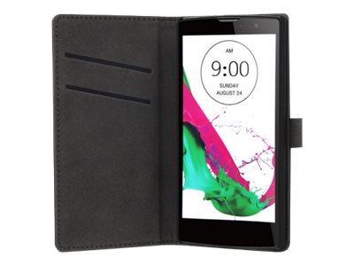Muvit Slim S Folio Case - Protection à rabat pour LG G4c - noir
