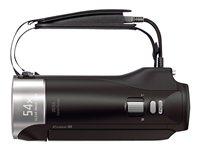 02.Camescope HDD et Hybride Vue de derrière