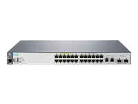HPE 2530-24-PoE+ Switch - commutateur - 24 ports - Géré - Ordinateur de bureau, Montable sur rack, fixation murale