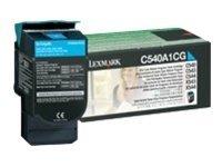 Lexmark - Cyan - C540A1CG - 1000 pages - original - cartouche de toner