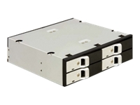 DeLOCK 5.25 Mobile Rack for 4 x 2.5 SATA HDD Lagrings mobil rack 2.5""