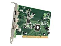 StarTech.com 3 Port 2b 1a PCI FireWire Adapter Card w/ DV Editing Kit