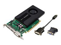 NVIDIA Quadro K2000 Grafikkort Quadro K2000 2 GB GDDR5 PCIe 2.0 x16