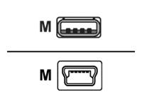 Belkin C�bles-USB F3U155CP1.8M