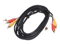 StarTech.com Composite Video Cable with Stereo Audio RCA