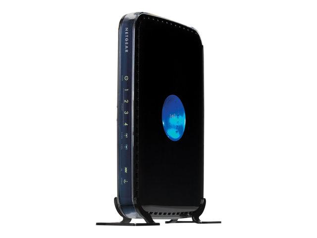 Image of NETGEAR RangeMax DGND3300 - wireless router - DSL modem - 802.11a/b/g/n (draft 2.0) - desktop