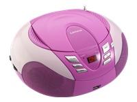 Lenco SCD-37 USB Boombox rosa