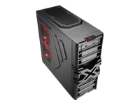 AeroCool Strike-X One Miditower ATX ingen strømforsyning sort USB/Lyd