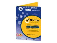 Norton Security Deluxe (v. 3.0) abonnementskort (18 måneder)