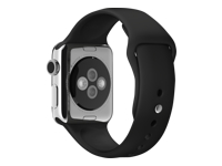 Apple 38mm Sport Band Urrem sort for Watch (38 mm)